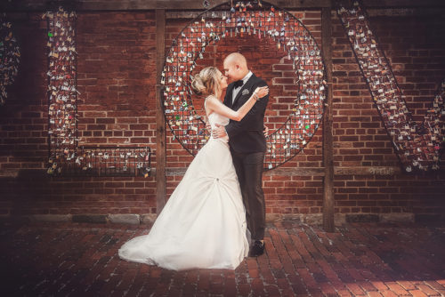 Michelle and David's Distillery District Wedding