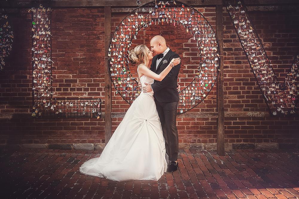 Michelle and David's Distillery District Wedding