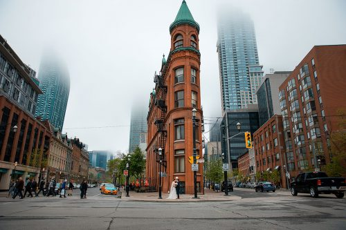 Awesome urban Toronto wedding!
