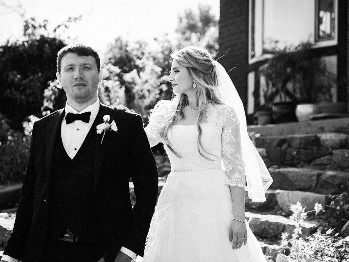 Evgeny and Marta's wedding day